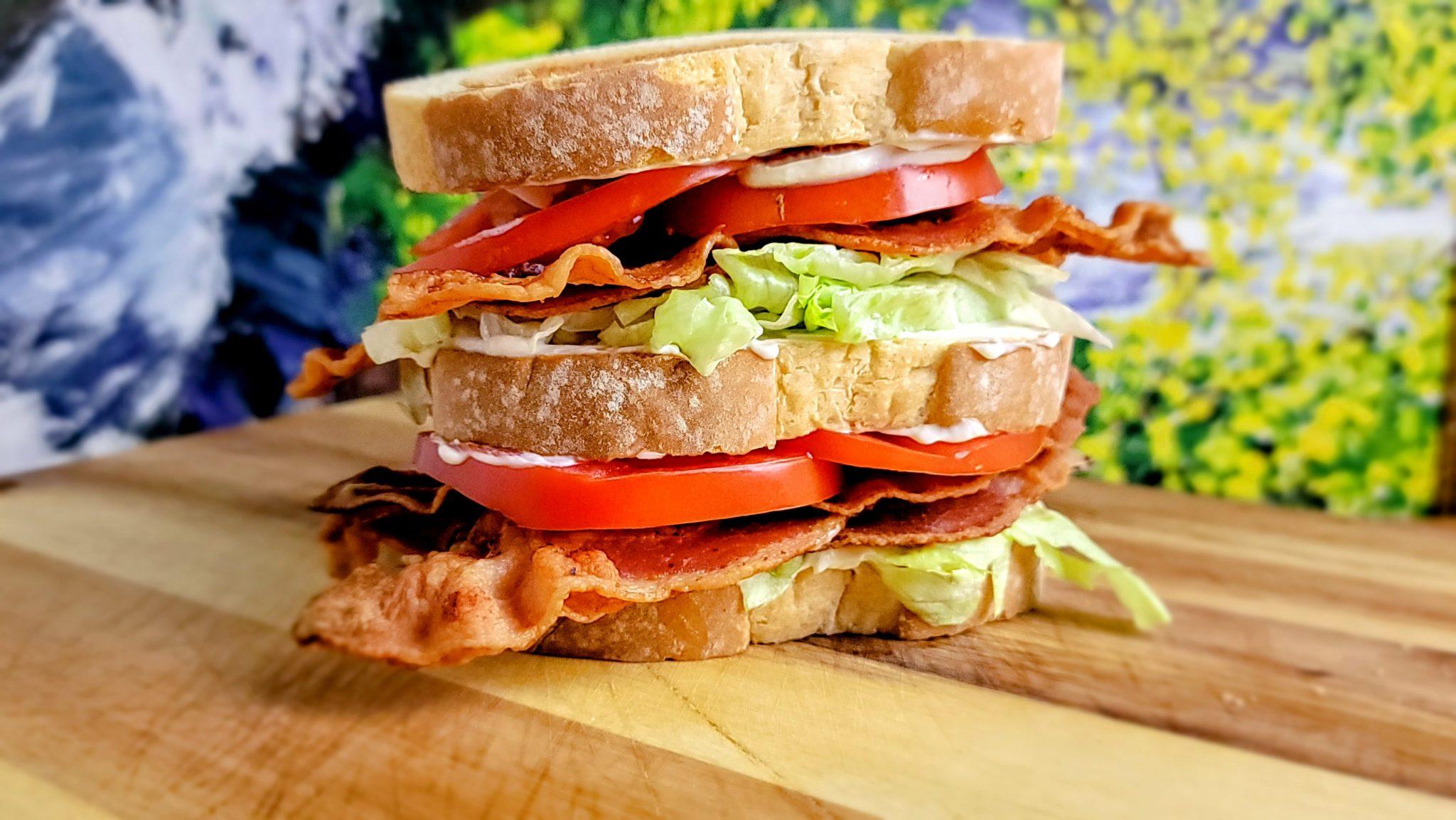 BLT The Perfect Bacon, Lettuce and Tomato Sandwich Recipe